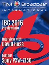 TM Broadcast International 37, Broadcast Magazine