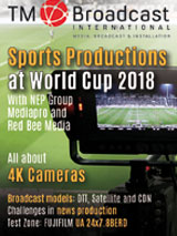 Sport production at Russia 2018