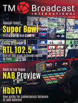 Super Bowl special in TM Broadcast