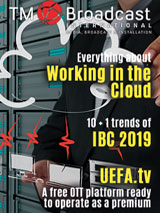 Working in the cloud in TM Broadcast