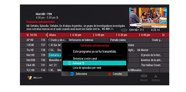 Media Distillery to enhance video user experience for VTR in Chile
