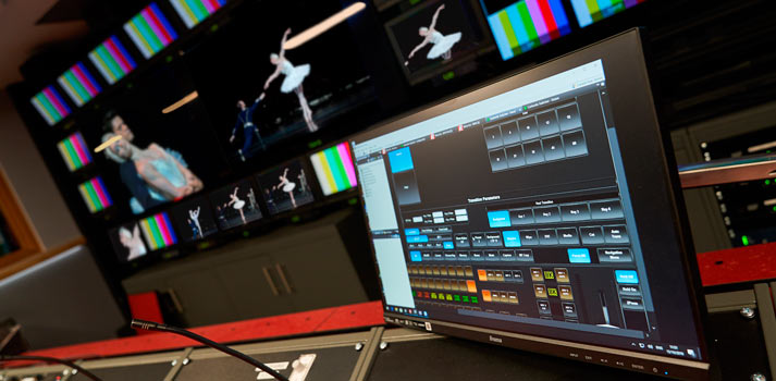 Megahertz provided the new 4K UHD equipment and devices to the control room of the Royal Opera House