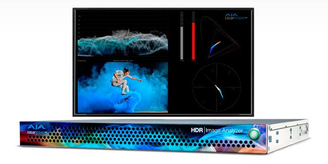 HDR Image Analyzer RU device by AJA