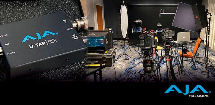 aja u-tap video setup by Full Nelson Video, INC