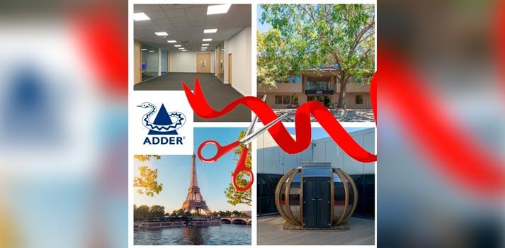 Adder corporate openings in 2019