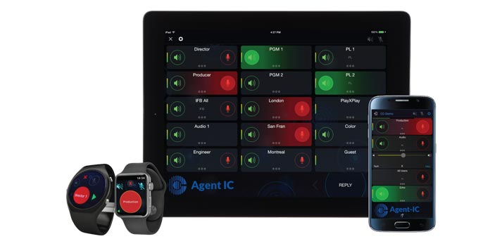 Agent IC by Clear-Com Ecosystem