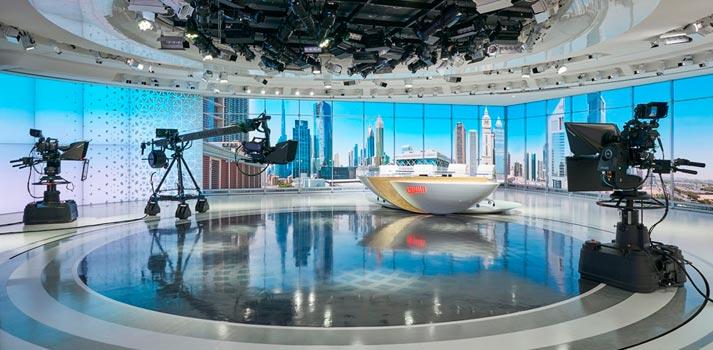 Studio of Asharq News -