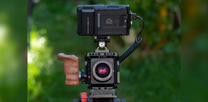 Combination of the Ninja V recorder and the Z CAM E2