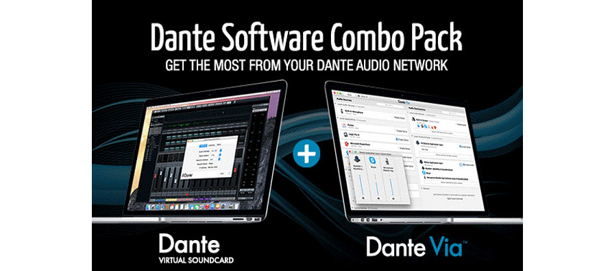 The Dant Software Combo Pack of Audinate