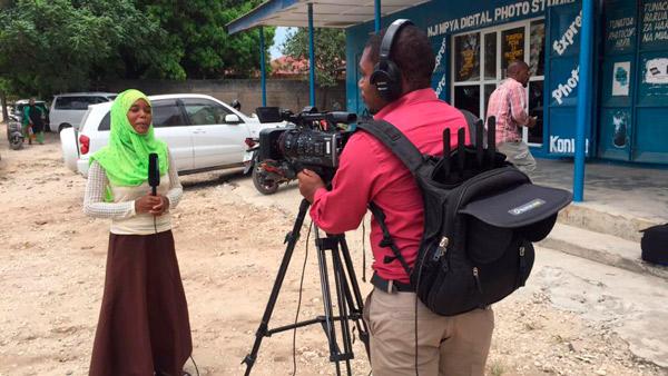 Reporter of AzamTV deploying Quicklink solution