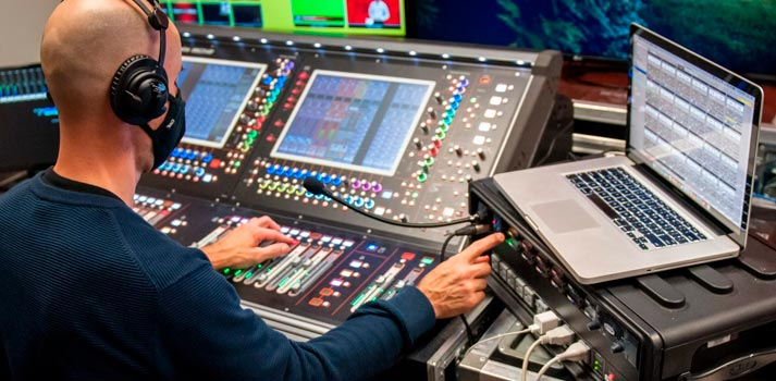 Clear-COm solutions at VIRTUAL production coverage