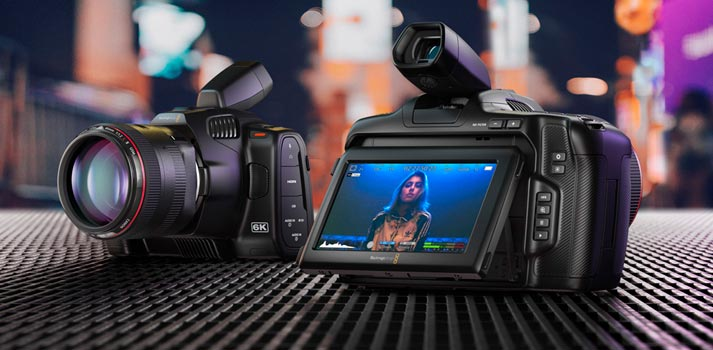 Blackmagic Design - Pocket Cinema Camera 6K Pro
