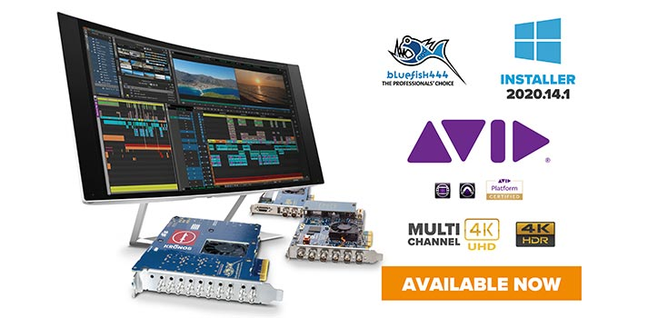 Avid products and Bluefish444 solution - Collague