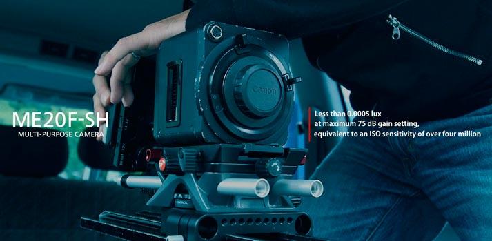 Facts of the Canon ME20F-SH multi-purpose camera