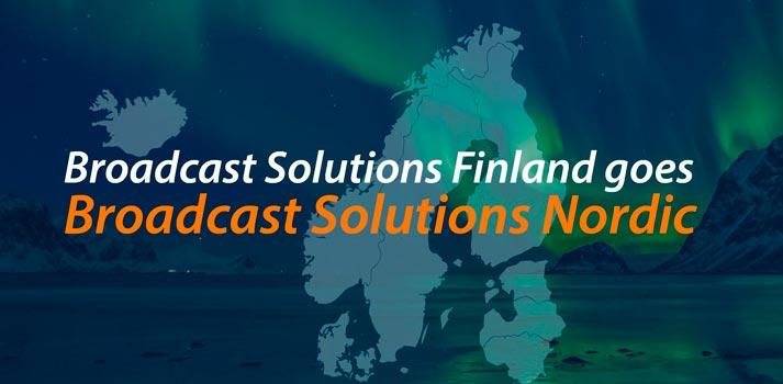 Rebranding of Nordic Broadcast Solutions brand
