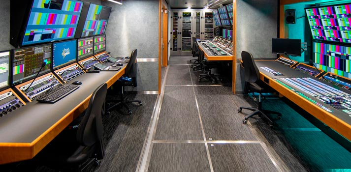 "OB Van ""Neva"", a project by Broadcast Solutions for Russian Market"