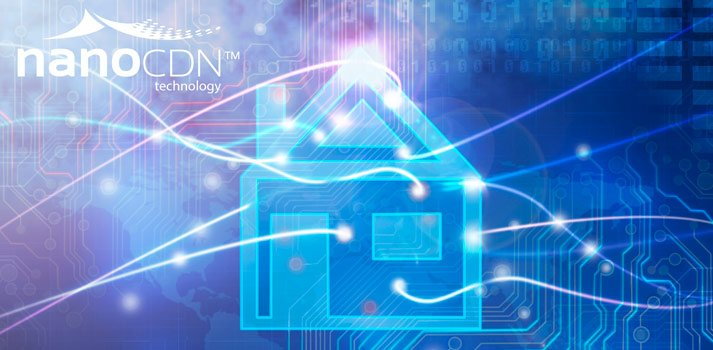 Conceptual image nanoCDN technology