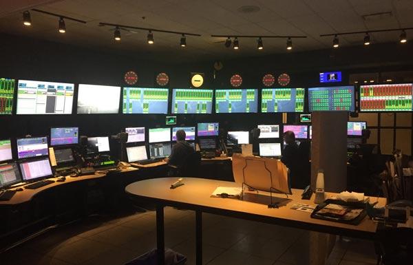 Control room of CBC / Radio Canada