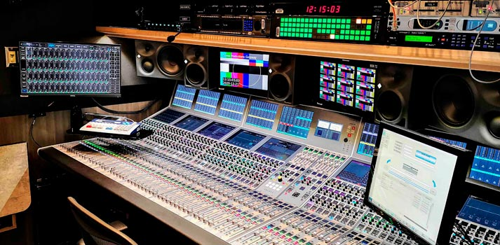 Calrec Apollo implemented at new Dome Productions OB Truck