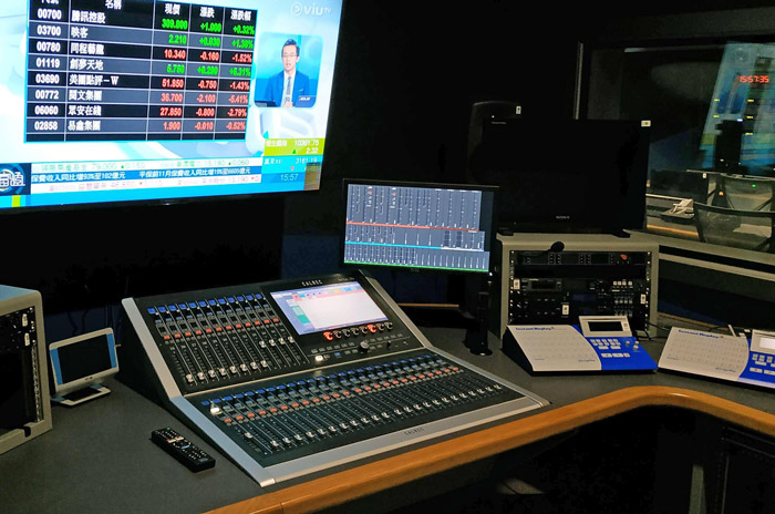 ViuTV system from Calrec