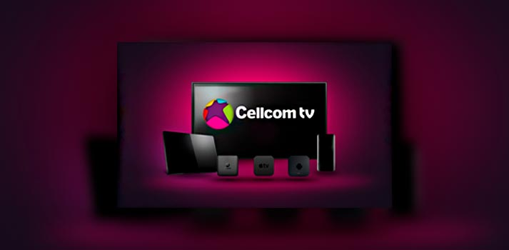 Ecosystem of Cellcom TV OTT devices