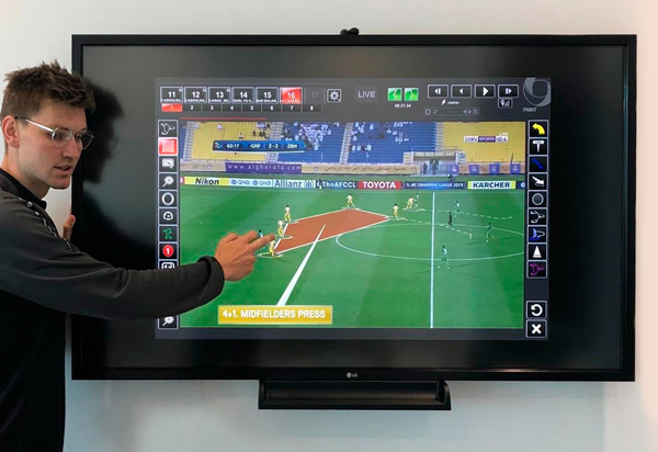 AlArabi deploying the ChyronHego Coach Paint Tool