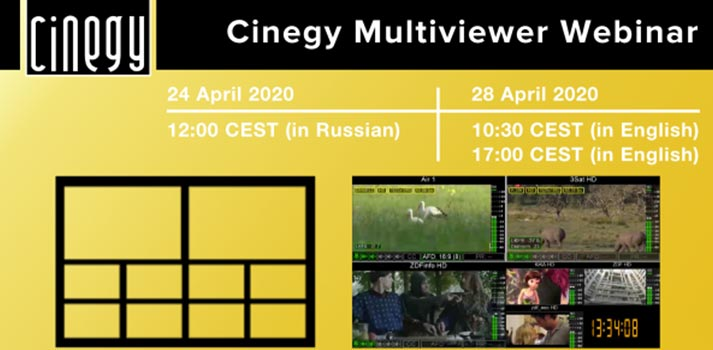 Cinegy Multiviewer 15 announcement