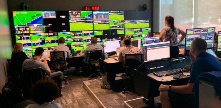 Control room at University of North Carolina