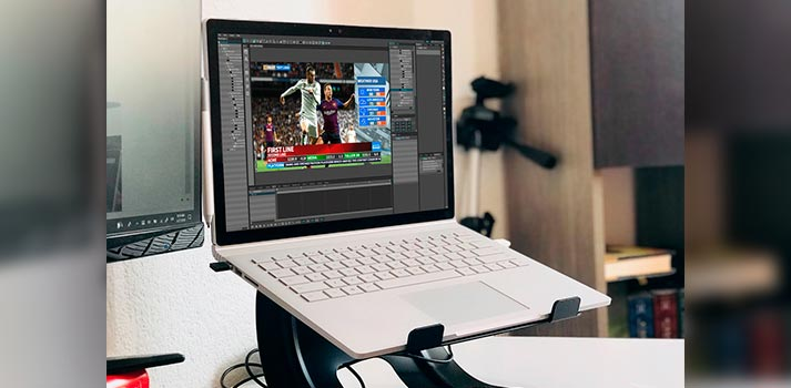 Dalet CubeNG graphics platform