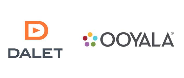 Logos of Dalet and Ooyala