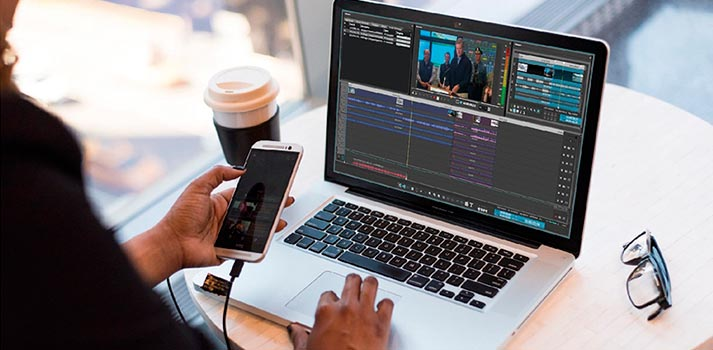 Remote editing tool by Dalet for newsrooms
