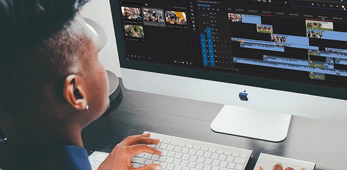 User editing on Adobe Premiere Pro with Dalet proxy editing