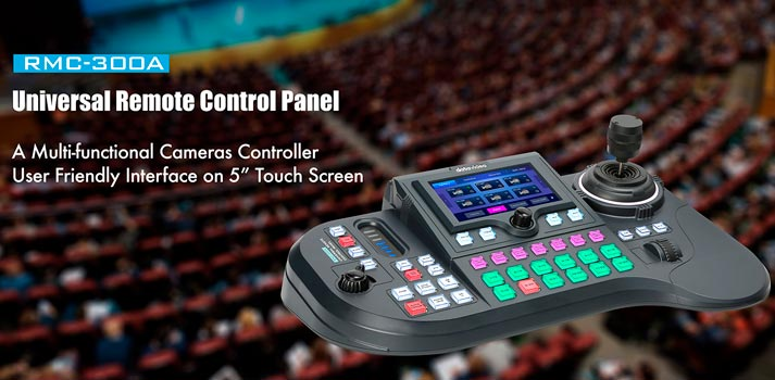 New universal control Datavideo RMC-300A