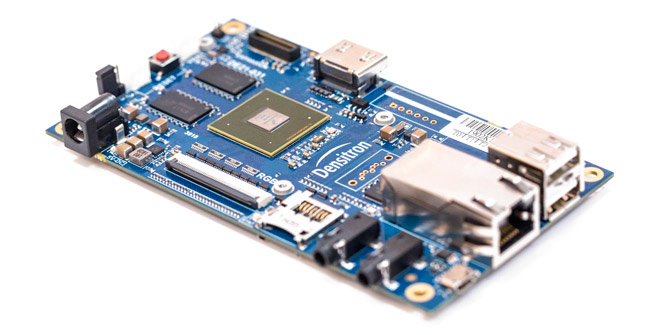 The single board computer Aurora is one of the products of Densitron