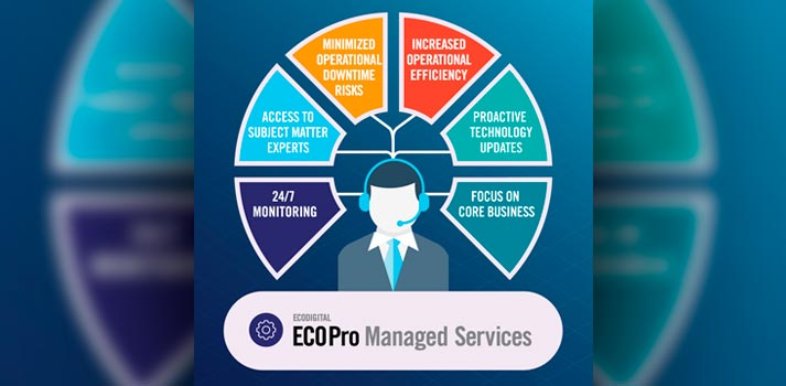 Managed Services by ECOPro, a new ofering by ECODigital