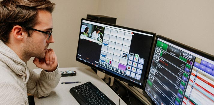 FISM TV manager using ENCO Automation playout system