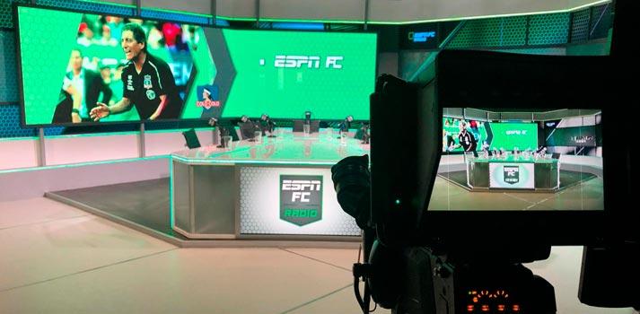 Studio of ESPN in Chile - Chilefilms