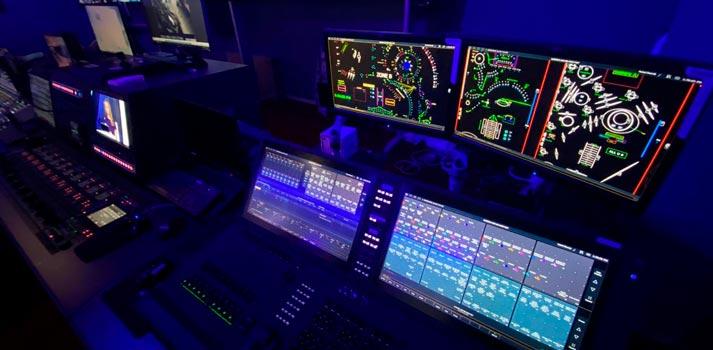 Lightning console deployed at Dubai TV station control room