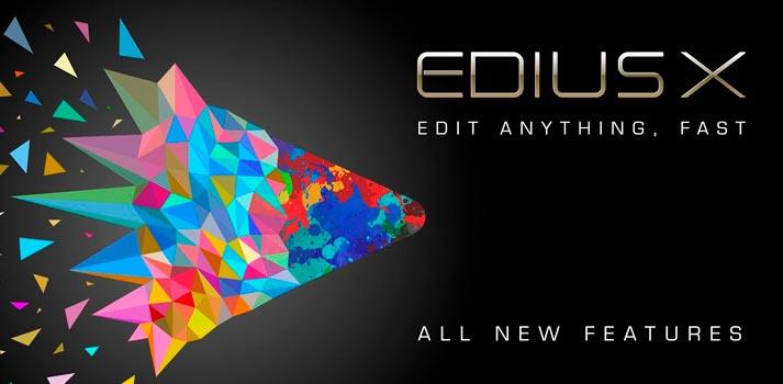 Promotional pic of Edius X