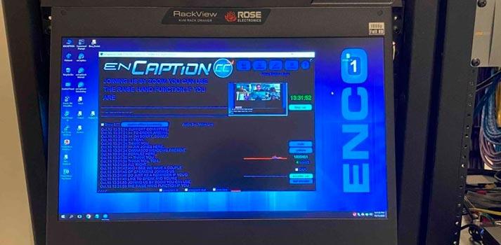 User Interface ENCO enCaption4