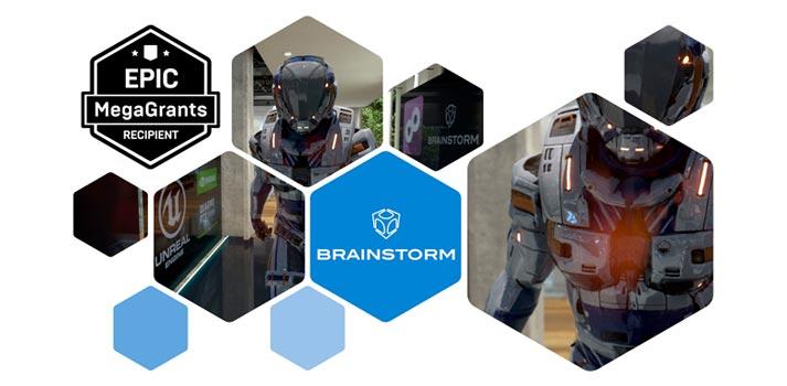 Brainstorm announcement of the Epic Games MegaGrant