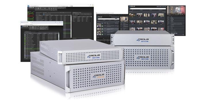 Ecosystem of Facilis HUB Shared Storage product