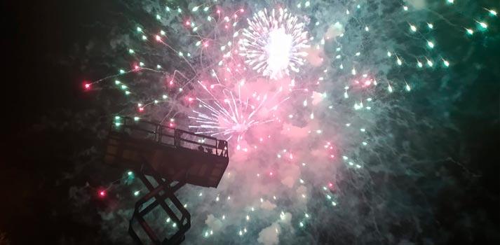 Fireworks - Barcelona coverage - Dejero EnGo