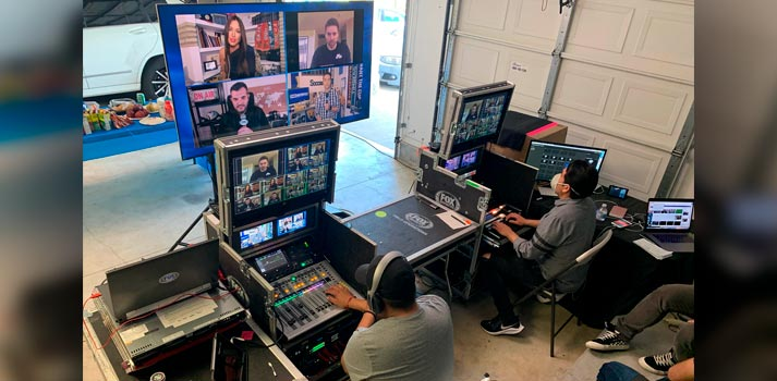 Remote PCR of Fox Deportes enabled by Dejero solutions
