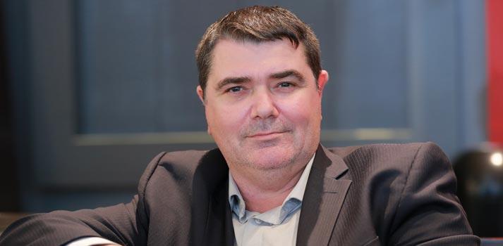 Shot of Francos Vailant, who works as executive director / engineering at CBC/Radio Canada