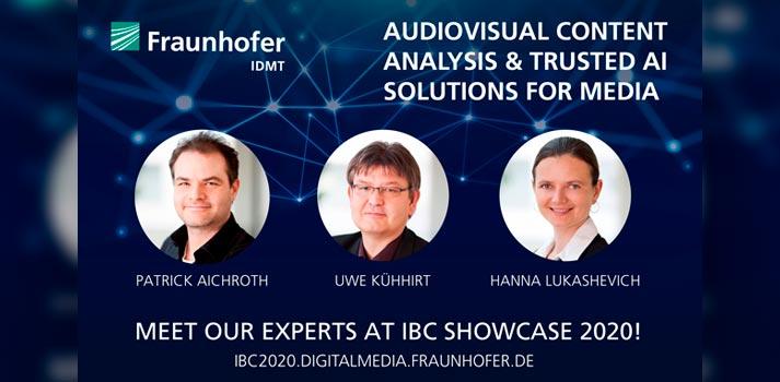 IBC Showcase 2020 will host Fraunhofer IDMT exhibition