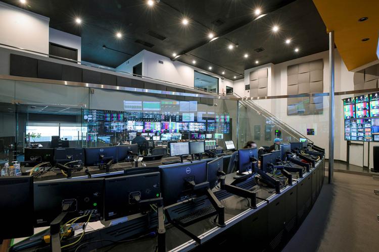 Enterprise facilities deploying GCVN solution