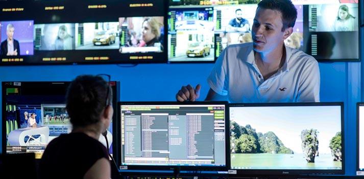 Operation Centre of Globecast