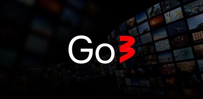 Logo of Go3 OTT platform
