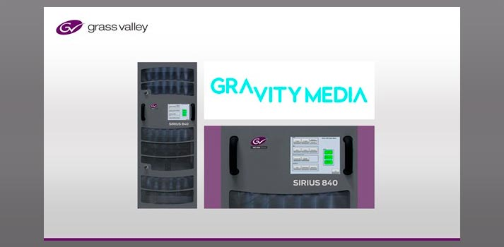 Grass Valley and Gravity Media deal - Promo pic